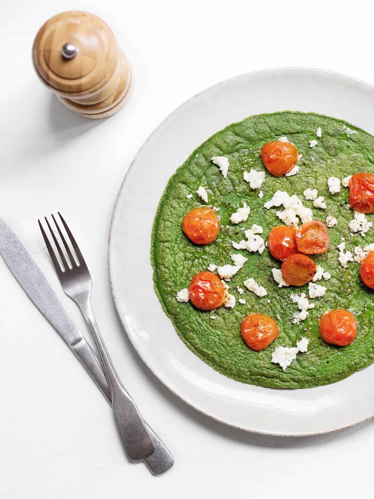 Žalias omletas