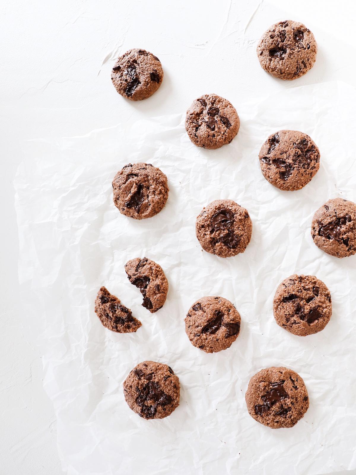 Šokoladiniai sausainiai